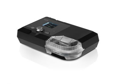 A black Luna II Auto Sleep Machine.